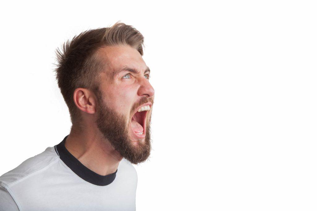 怒りの画像