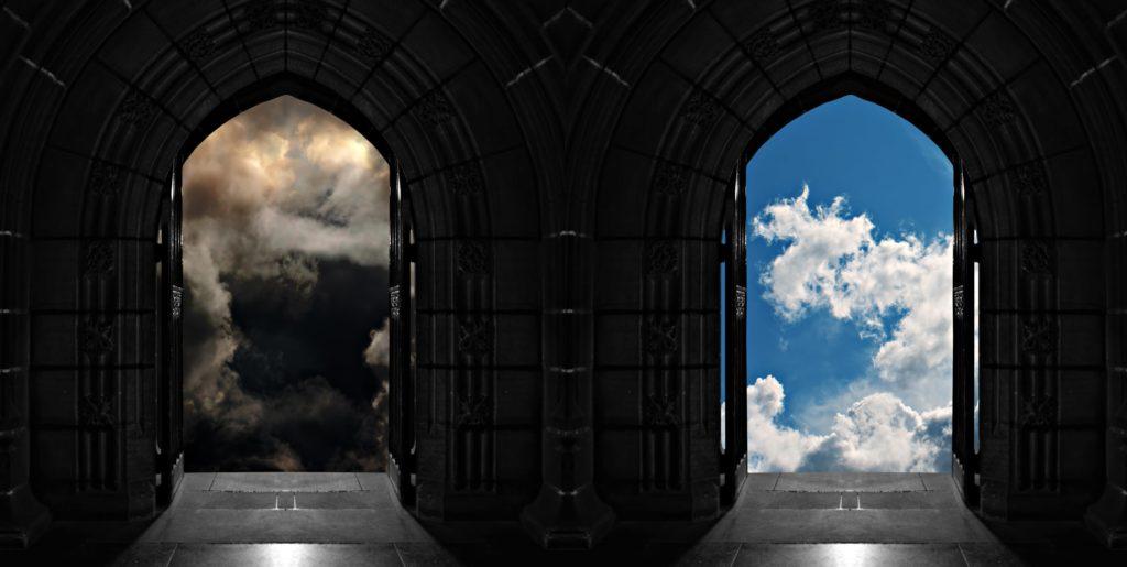 天国と地獄の画像
